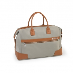Weekend Duffle Bag Titanium/Cognac