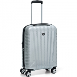"22"" Domestic Carry-on Spinner Silver/Carbon"