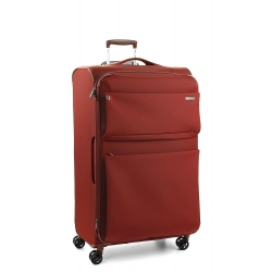 "32"" Expandable Large Spinner Luggage Dark Red"