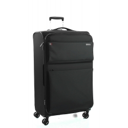 "32"" Expandable Large Spinner Luggage Black"