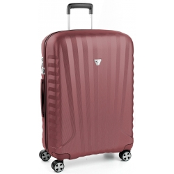 "30"" Spinner Luggage Red Burgundy"