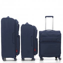 "Set 3 pcs Navy 32"" + 29"" + 22"" international Carry On"