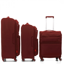 "Set 3 pcs Dark Red 32"" + 29"" + 22"" international Carry On"