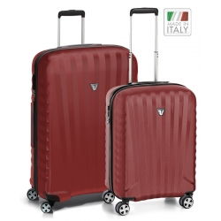 "Set 2 Spinner Luggage Dark Red (32"" spinner + 22"" Domestic carry-on)"