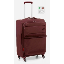 "29"" Expandable Medium Spinner Luggage Dark Red"