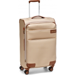"28""  Expandable ML Spinner Luggage Champagne"