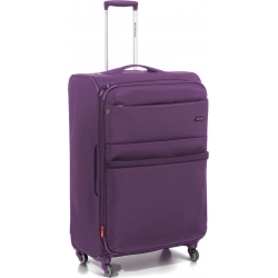 "32"" Spinner Luggage Expandable Purple"