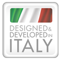 Designed and Developed in Italy